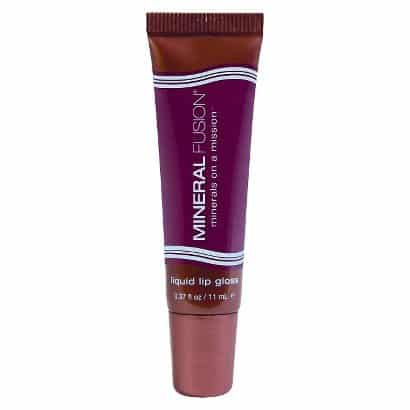 Non toxic lip care products: Mineral Fusion Liquid Lip Gloss #usalovelisted #madeinUSA