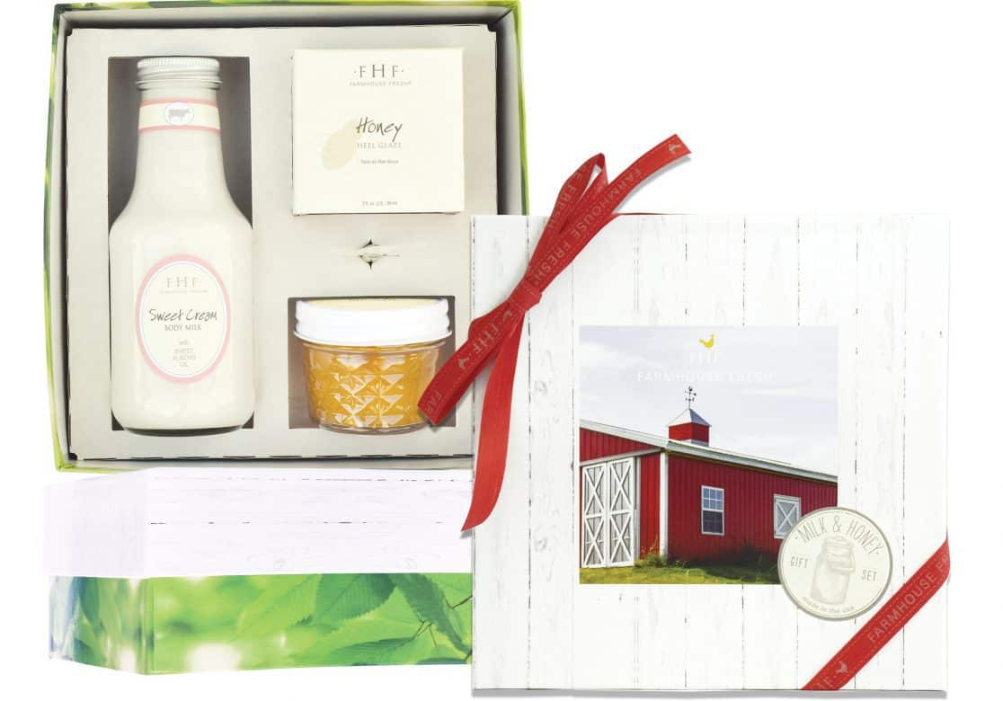 Farm House Fresh Honey Cream Gift Set - Made in USA