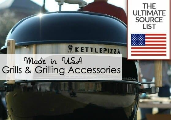 Made in USA grills and grilling accessories
