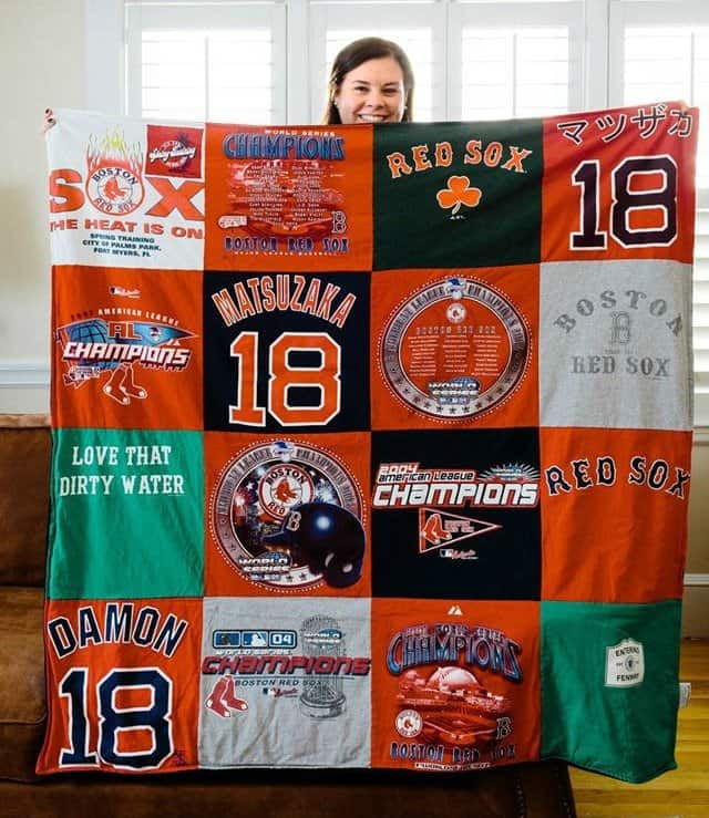 Project Repat custom made T-shirt quilts Great gift idea!