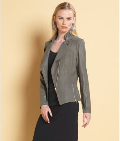 Clara Sunwoo Liquid Leather jacket | Made in USA | Affordable Luxury Gifts for Women