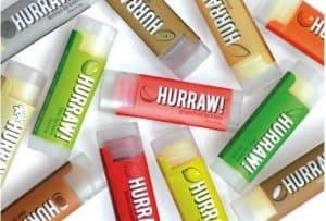 Vegan, Gluten-, GMO-Free Lip Balm from Hurraw | Made in USA