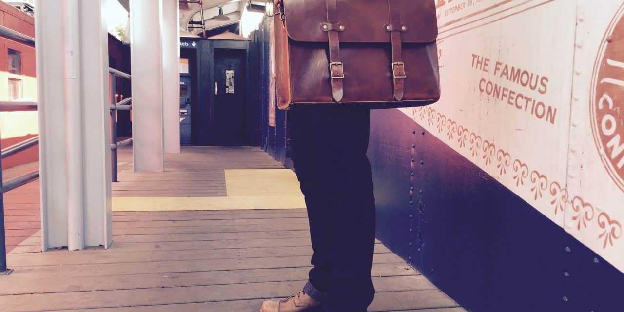 Introducing Jackson Wayne American Made Leather Briefcase