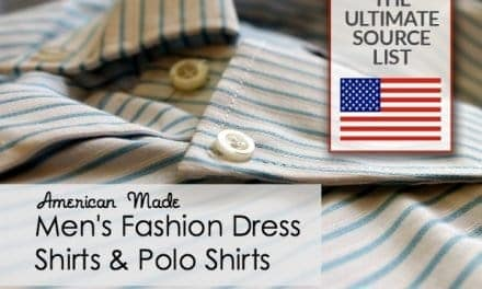 Men's Fashion Dress Shirts & Polo Shirts: A Made in USA Source List