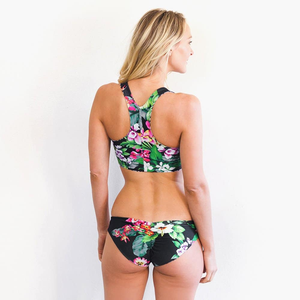 Reversible Racerback Bikini | American Made by Swoon Swimwear | Reviewed on USA Love List