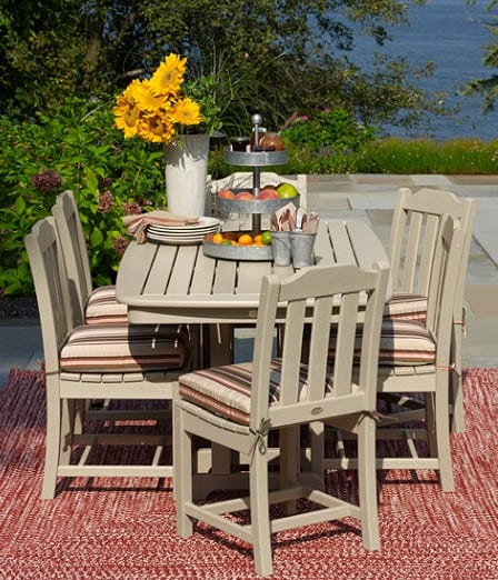 American made outdoor patio furniture at LL Bean #usalovelisted #patio #outdoorfurniture