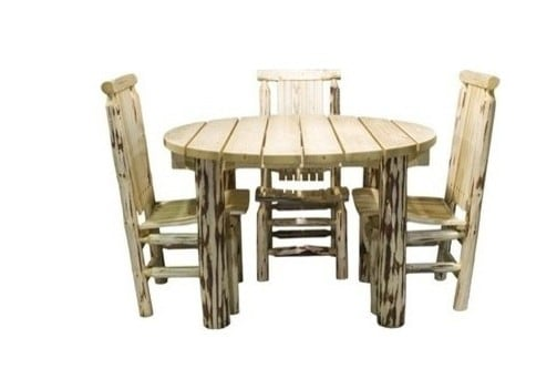 Montana Woodworks rustic outdoor deck furniture | Made in USA