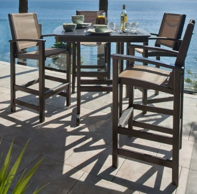 Polywood casual patio furniture | Made in USA #USAlovelisted #patio