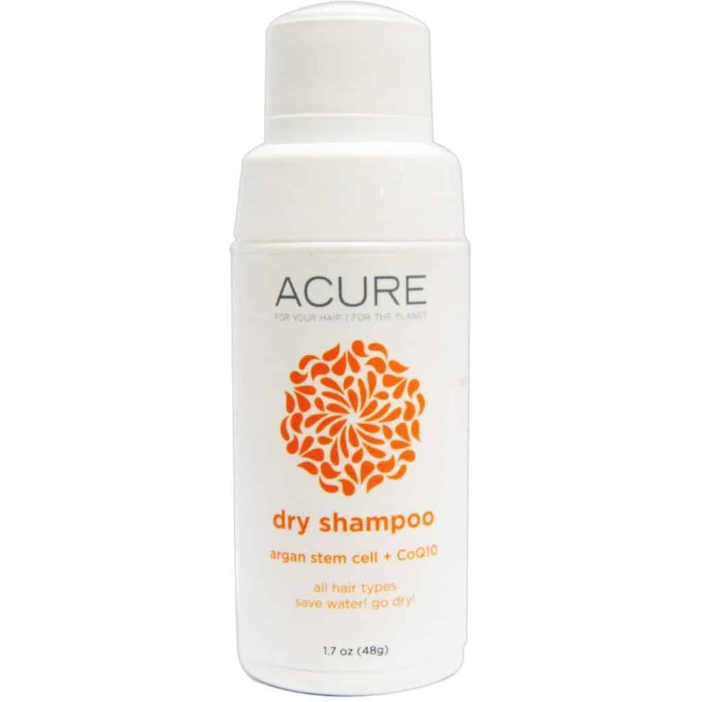 Talc Free dry shampoos: ACURE Dry Shampoo Review | Safe Cosmetics Made in USA #usalovelisted #vegan