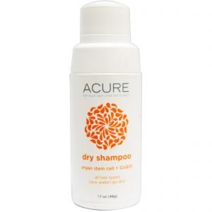 Vegan, gluten-, cruelty-, talc-free ACURE Dry Shampoo Review | Safe Cosmetics Made in USA