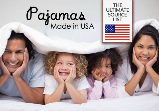 Perfect pajamas for men, women and kids | Made in USA source list