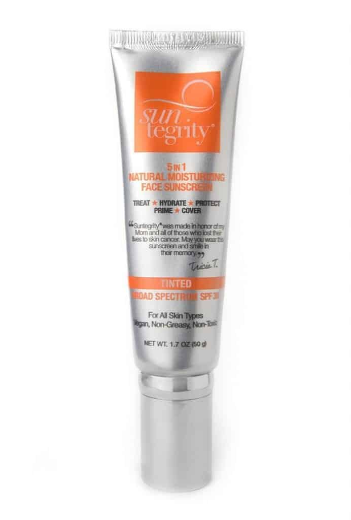 Non toxic sunscreen: Suntegrity Moisturizing Face Sunscreen #usalovelisted