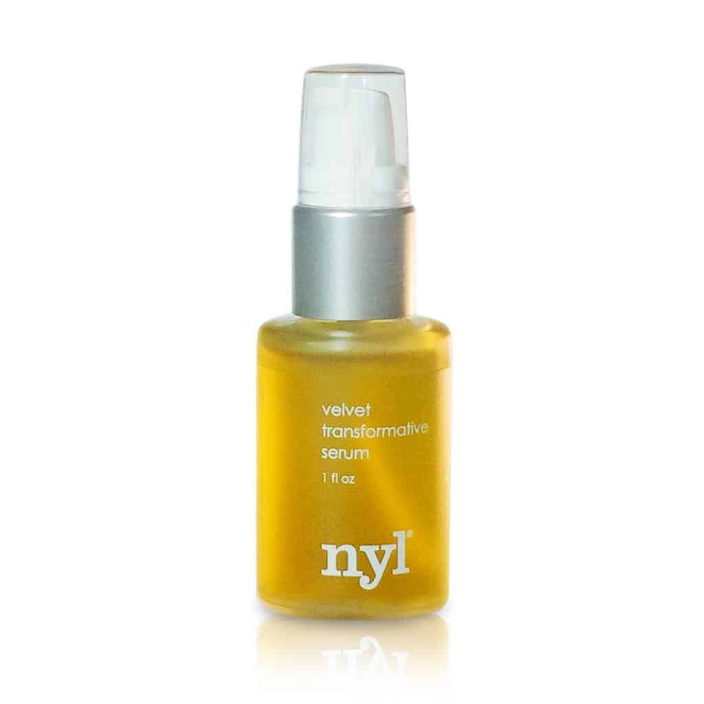 nyl Velvet Transforming Serum - facial oil for renewing summer skin | easy beauty tips for summer