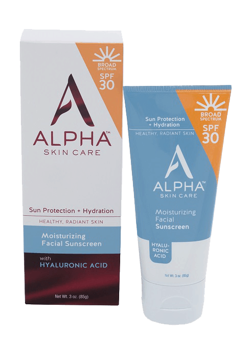 Made in USA Sunscreen: Alpha skin care facial sunscreeen
