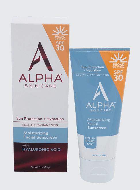 Made in USA Sunscreen: Alpha skin care facial sunscreeen