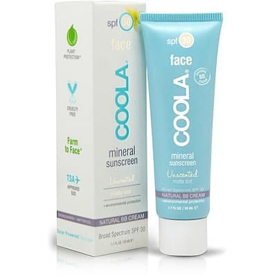 Gym bag essentials: Coola Mineral Sunscreen Face Tint #usalovelisted #madeinUSA #gymbag
