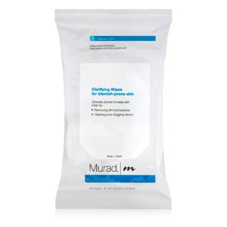Gym bag essentials: MUrad Facial Wipes #usalovelisted #madeinUSA #gymbag #gymessentials