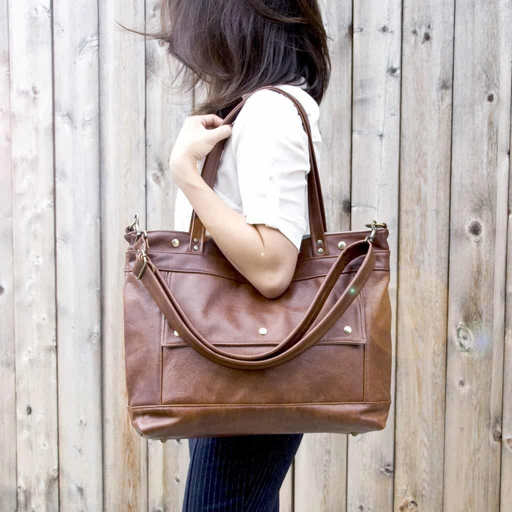 Passionate environmentalist makes bags, shoes and coats using pure water nylon