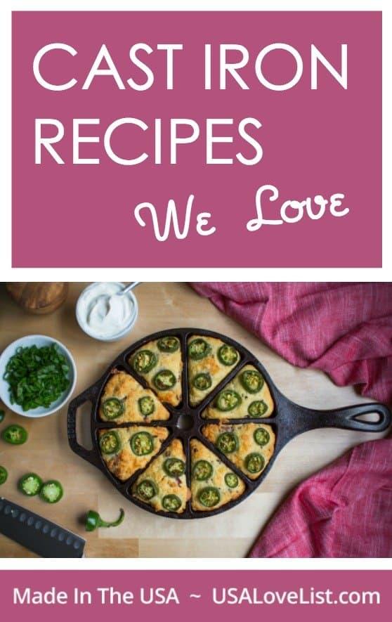 Cast Iron Recipes We Love