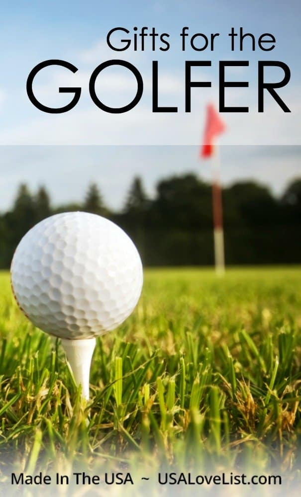 Gifts for the Golfer | Made in USA golf gift ideas