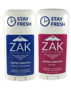 Non-Toxic, Baking Soda Free Natural Deodorant from ZAK Detox Deodorant | 20% off with code USALOVEZAK
