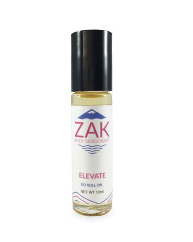 Made in Colorado: Non-Toxic, Roll-On, Baking Soda Free Natural Deodorant from ZAK Detox Deodorant | 20% off with code USALOVEZAK