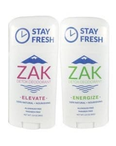 Best Natural Deodorant from ZAK Detox Deodorant #vegan #natural #beauty