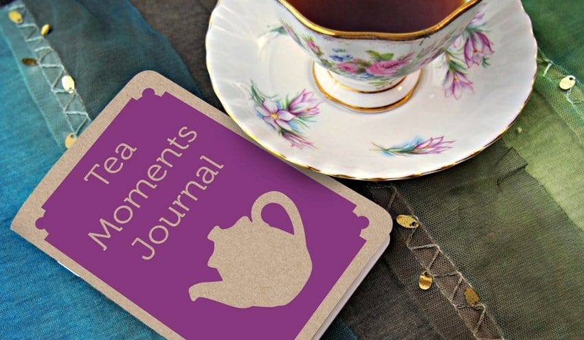 Affordable American Made Gifts For Tea Lovers | Tea Moments Jornal from Plum Deluxe