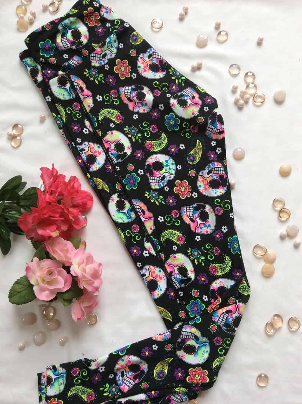 American Made Skull Tights $50 and Under from Astrosportswear