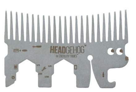 Gifts For Men | American Made Zootility Tools HeadgeHog Pocket Comb Multi-Tool