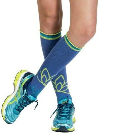 Lily Trotter American Made Fashion Compression Socks | Perfect for Travel, Sitting, Standing, Walking, Fitness, and Daily Exercise | 25 percent off coupon code SAVE25NOW