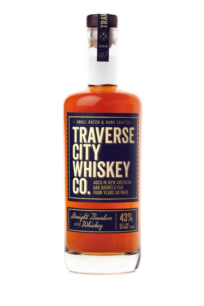 Traverse City Whiskey Co. Straight Bourbon Whiskey