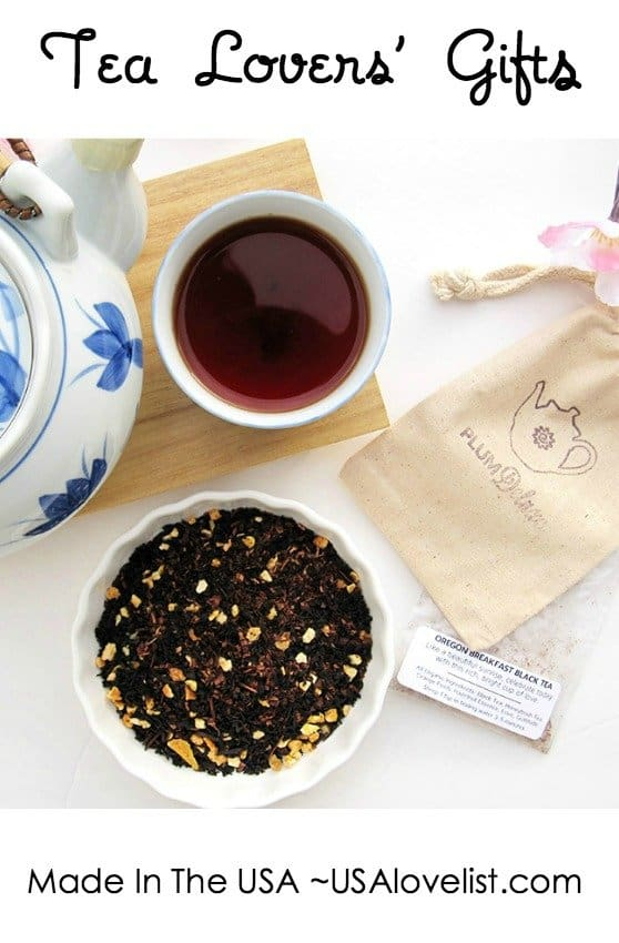 Affordable American Made Gifts for Tea Lovers - USA Love List