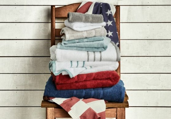 American manufacturing 1888 mills towels