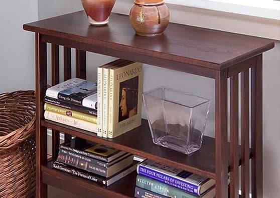 Manchester Wood Furniture best seller | Mission Underwindow Bookshelf