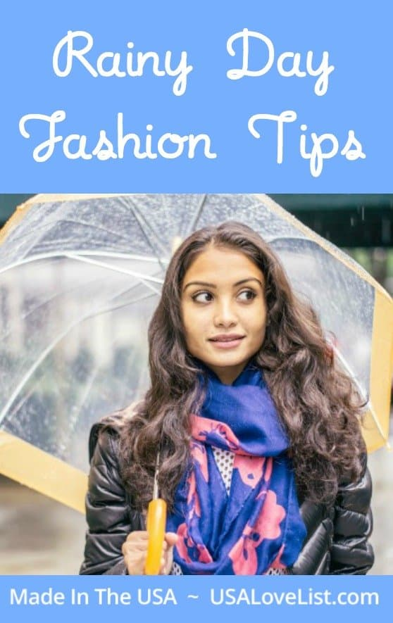 Rainy Day Fashion Tips | Fashion under $100 | Made in USA