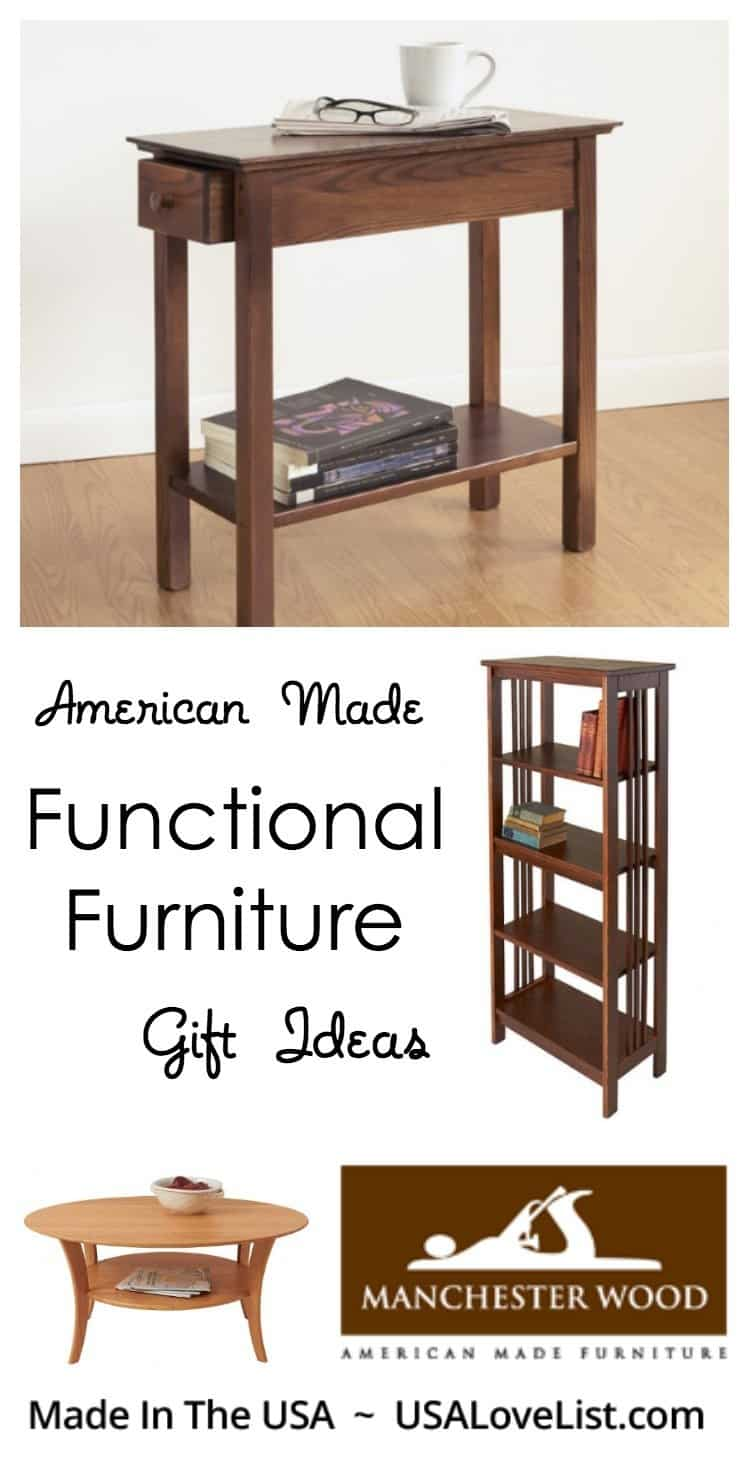 Functional furniture from Manchester Wood | Gift ideas