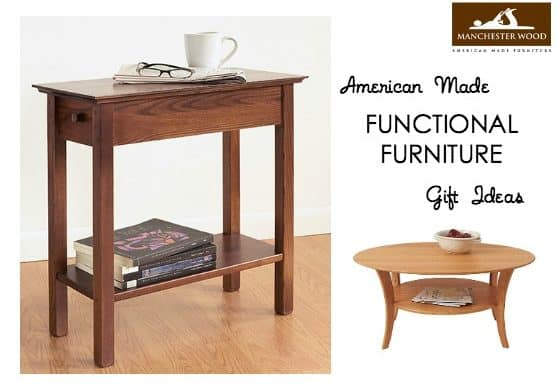Gift Ideas: Functional Furniture from Manchester Wood
