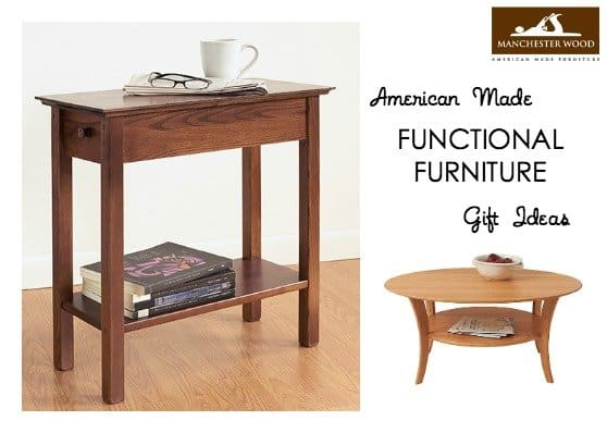 Functional Furniture from Manchester Wood