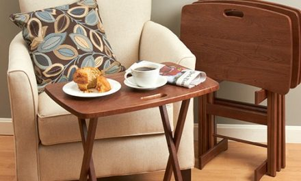 Classic Furniture for Modern Day Living: Manchester Wood Tray Tables