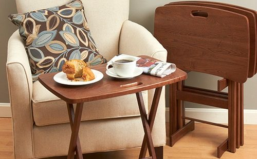 Manchester Wood TV Trays made in USA