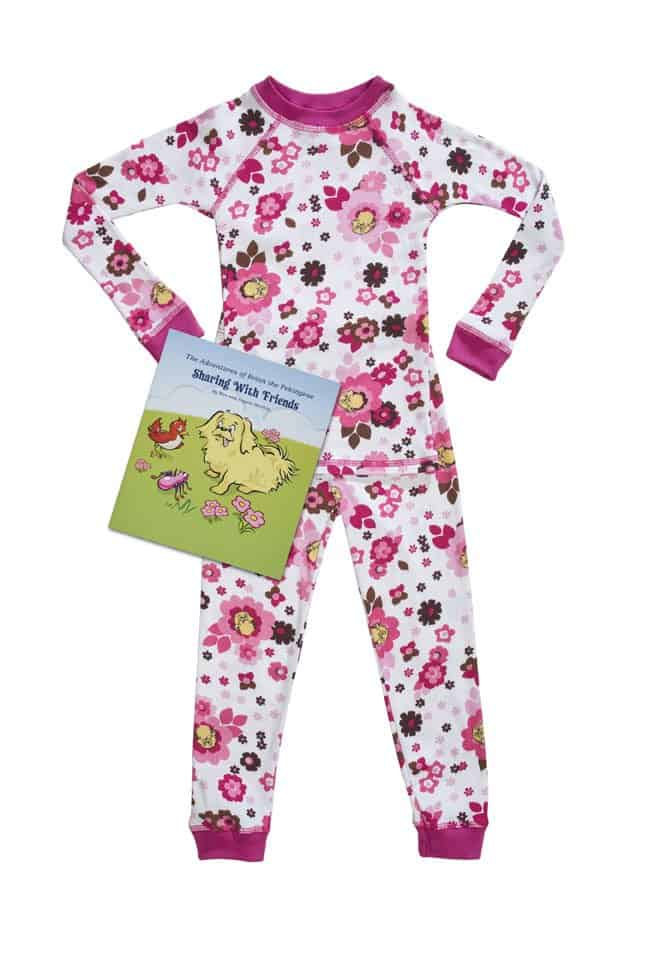 Brian the Pekingese kids pajamas | Made in USA