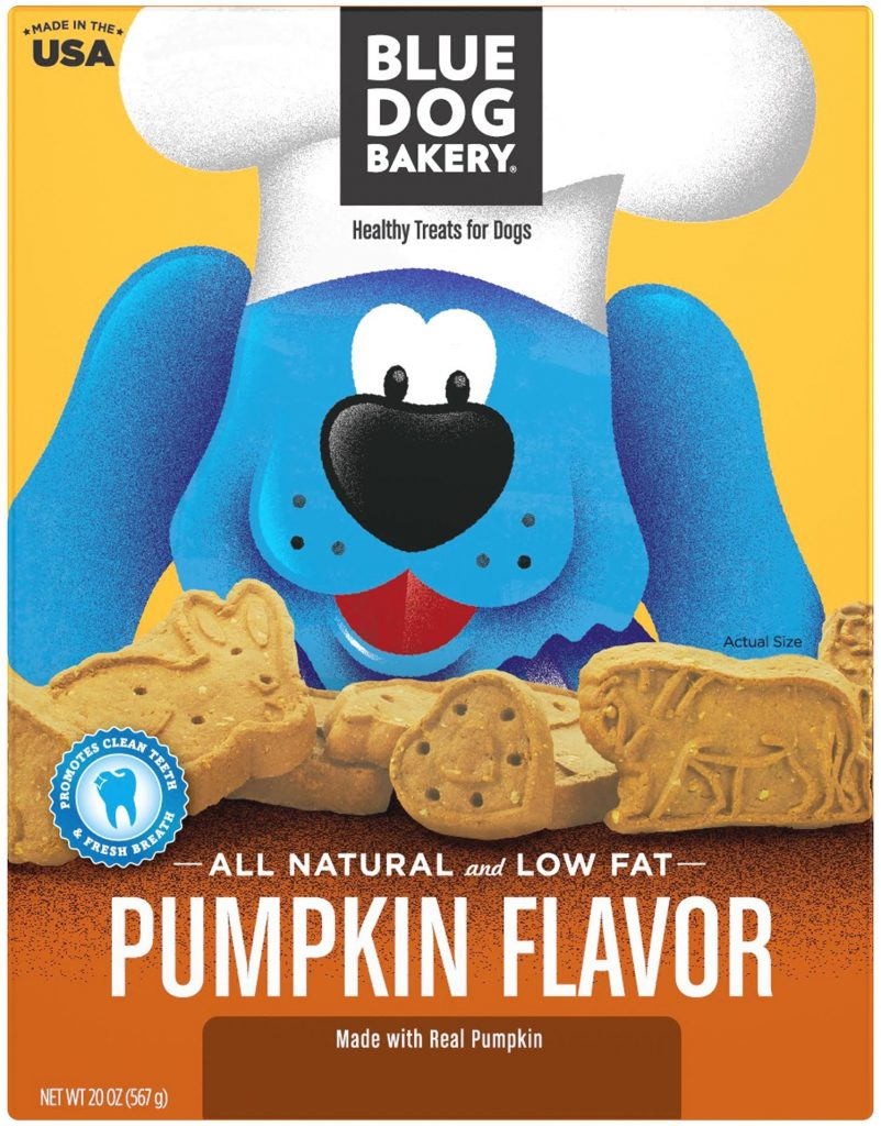 Blue Dog Bakery Pumpkin Spice Dog Treats