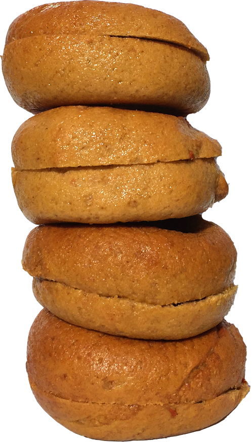 Gluten-,Egg-,Rice-Free Pumpkin Spice Bagles from Greater Knead Bakery