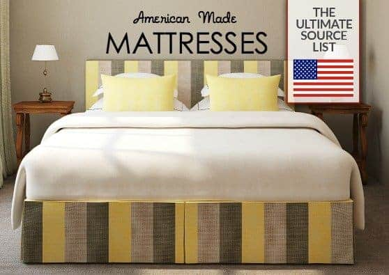 Buying a Mattress Made in USA Ultimate Source List USA