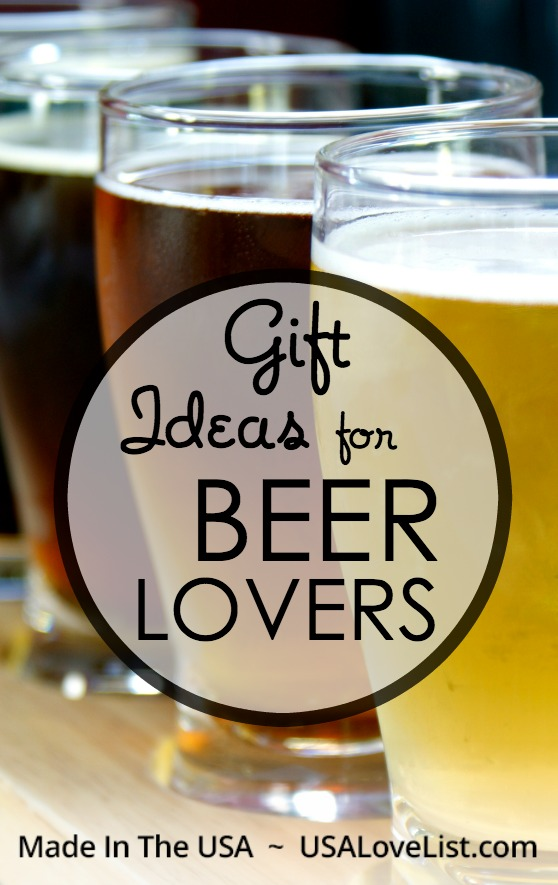 Gifts for Beer Lovers |Made in USA