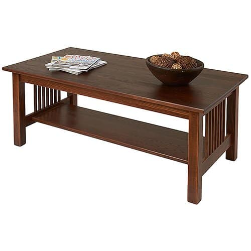 Mission Coffee Table by Manchester Wood | Made in USA Furniture