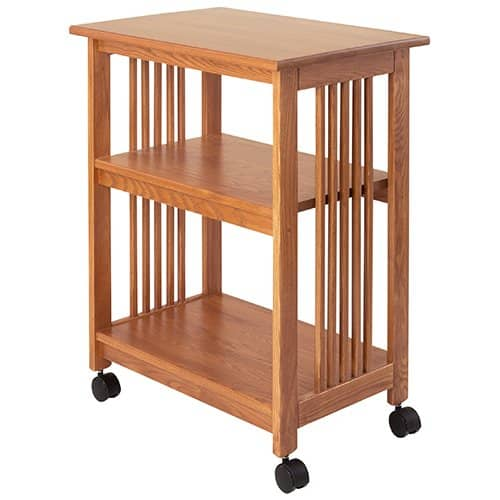Mission Printer Cart by Manchester Wood | Made in USA Mission furniture