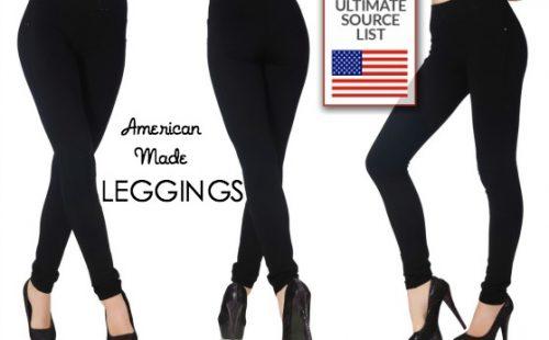 American Made Leggings Source Guide