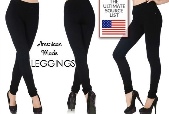 Leggings: Our Made in USA Source List